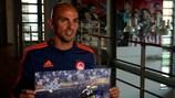 Esteban Cambiasso en interview avec UEFA.com