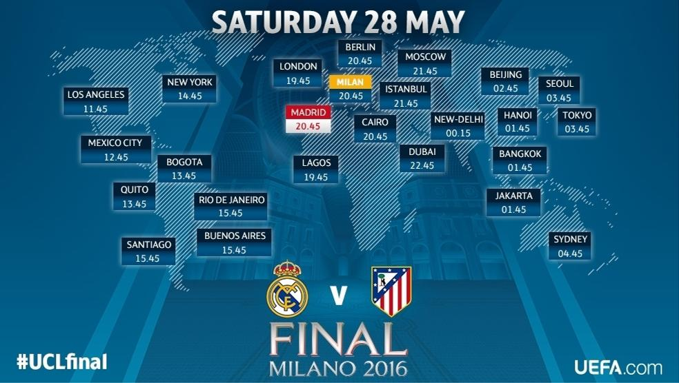 What time is the Champions League final? | UEFA Champions ...