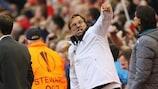 Jürgen Klopp, feliz en Anfield