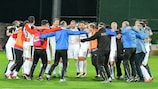 Astra Giurgiu have secured their maiden Romanian title