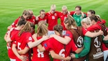 Norway gather ahead of their victory over France