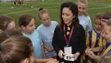 Nadine Kessler has been appointed as a UEFA women's football development ambassador