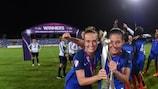 Théa Greboval und Clara Mateo stehen beide auf der Liste