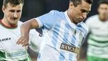 Tre Pennes Stefano Fraternali im Spiel gegen TNS