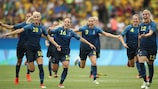 Sweden beat hosts Brazil on penalties to reach the final