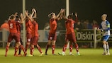 Women's Champions League qualifying round ends