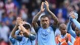 Manchester City gewann das erste Spiel unter Josep Guardiola