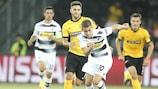 Mönchengladbach's Thorgan Hazard scored against Young Boys in pre-season
