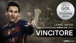 Il Gol della Stagione di UEFA.com è di Lionel Messi