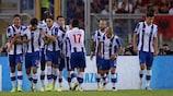 Felipe festeggia il gol alla Roma