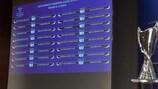 Emparejamientos de los 1/16 de final de la UEFA Women's Champions League
