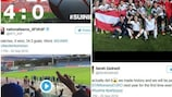 Women's EURO finalists enjoy feat