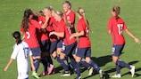 Norwegen setzte sich in der Gruppe 1 durch