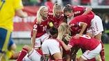 Finalistas do EURO Feminino: Pote 3