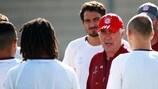 Carlo Ancelotti, entraîneur du Bayern