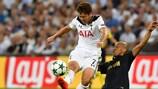 Tottenham Hotspur's South Korean striker Heung-Min Son will pose a threat to his former side Bayer Leverkusen on matchday three