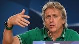 Jorge Jesus empfängt als Trainer von Sporting den BVB