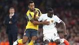 Theo Walcott erzielte im Hinspiel beide Treffer für Arsenal
