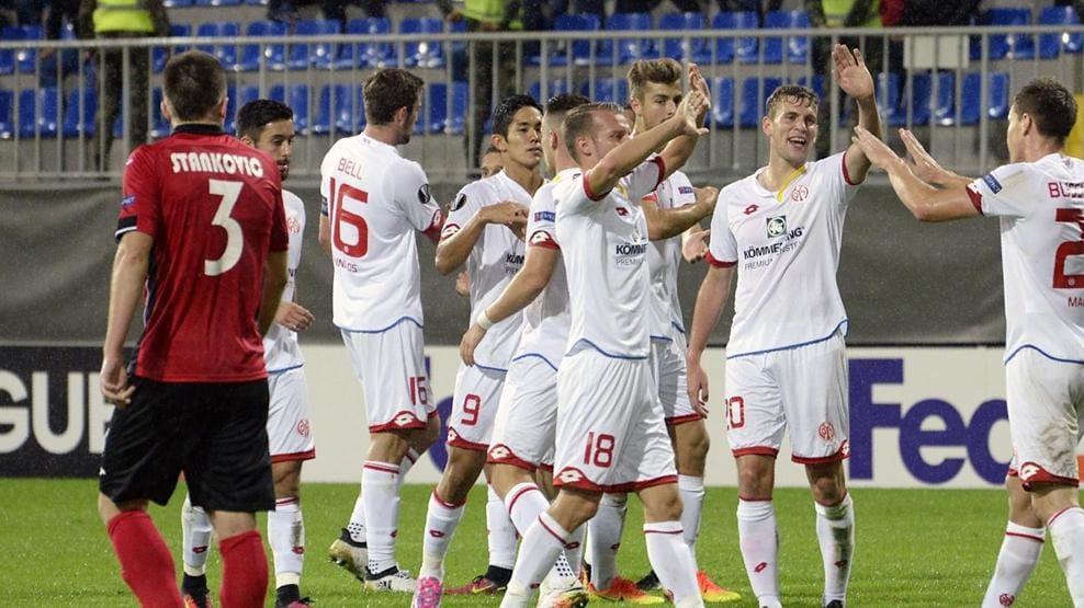 Футбол лига европы майнц 2 0 габала
