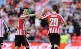 El Athletic va a necesita de Aritz Aduriz para sellar el pase