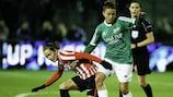 Imagen del Fortuna - Athletic de este miércoles