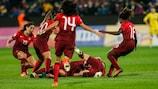 Le squadre di Women's EURO: quarta fascia