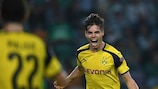 Julian Weigl opened his Dortmund account against Sporting on matchday three