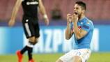 Il Napoli ha raccolto appena un punto nelle due partite contro il Beşiktaş