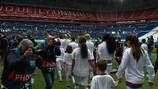 O Lyon marcou sete golos na recepção ao Paris nas meias-finais da época passada