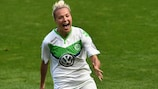 Zsanett Jakabfi scored four for Wolfsburg in Sweden