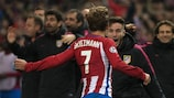 Antoine Griezmann traf zweimal für Atlético