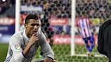 Cristiano Ronaldo traf im Derby drei Mal