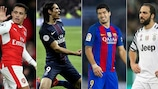 Paris prevail as Barcelona stall and Juve lose