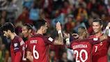 Após derrota inicial na Suíça, Portugal recuperou terreno no Grupo B e registou três vitórias com 16-1 em golos