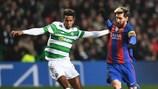 O Celtic defrontou o Barcelona na fase de grupos da época passada