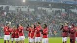 Der FC Bayern feiert einen gelungen Abschluss im Champions-League-Jahr 2016