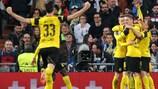14 der 21 Tore gelangen dem BVB gegen Legia Warschau