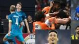 O melhor da fase de grupos da UEFA Europa League