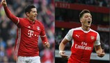 Grands duels des 8es : Lewandowski - Özil