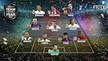 The UEFA.com users' Team of the Year