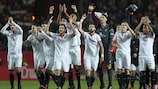 Sevilla clinched a comeback victory against Madrid on Sunday