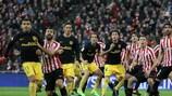 Empate del Athletic, y derrotas de Villarreal y Celta