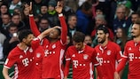Bayern have won seven and drawn one of their eight fixtures since matchday six