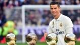 Cristiano Ronaldo, le tenant du titre