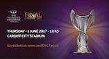 Women's Champions League final tickets on sale