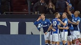 Schalke feierte einen Heimsieg gegen Hertha