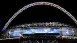 Das Wembleystadion war Austragungsort des Rekordspiels