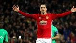 Zlatan Ibrahimović führte Manchester United ins Achtelfinale