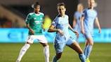 Carli Lloyd in quarter-final action against Fortuna