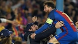 Lionel Messi et le Barça fêtent leur remontada face à Paris